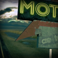 Make A Stop At An Old Deserted Motel