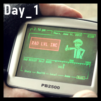 "Program A Fallout 3 ""Pipboy"" Touch Screen – Day 1"