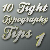 "Tight Typography Tips #1 – ""Background Check"""