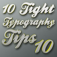Tight Typography Tips #10  Livin In Style