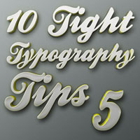 Tight Typography Tips #5  I Like The Way You Move 