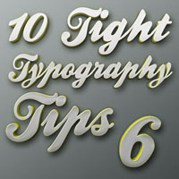 "Tight Typography Tips #6 – ""Stay Consistent"""