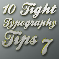 Tight Typography Tips #7  Get Ready Preset Go!