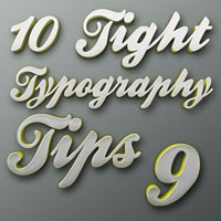 "Tight Typography Tips #9 – ""Breakin' Up Is Hard To Do"""