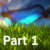 Whimsical Grassy Field Butterfly Scene Part 1 – AE Premium