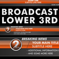 Design Your Own Broadcast Lower Thirds