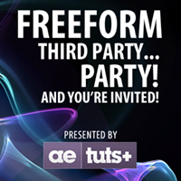 FreeForm Third Party…. Party! And You're Invited!