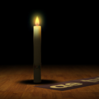 Light A Simulated Flickering Candle Flame