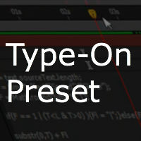 Quick Tip – Type-On Text Preset With Blinking Cursor