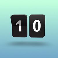 Create An Animated Split Flap Clock