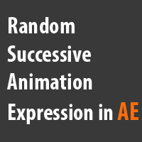 Simulate A Slow Internet Connection With A Random Successive Animation Expression