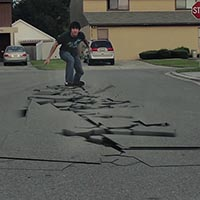 Create A Ground Breaking Pavement Crack Simulation