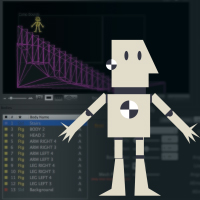 Crash Dummy Character Rigging Using Newton